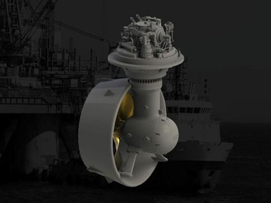 MTA marin d'azimut d'éjecteur de propulsion de chat