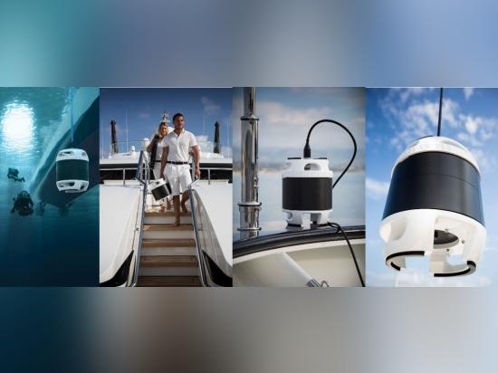 Lancement de détection de plongeur de sonar de yacht de Cerberus