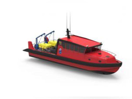 Les nouveaux navires sont optimisés pour le travail sous-marin de soutien