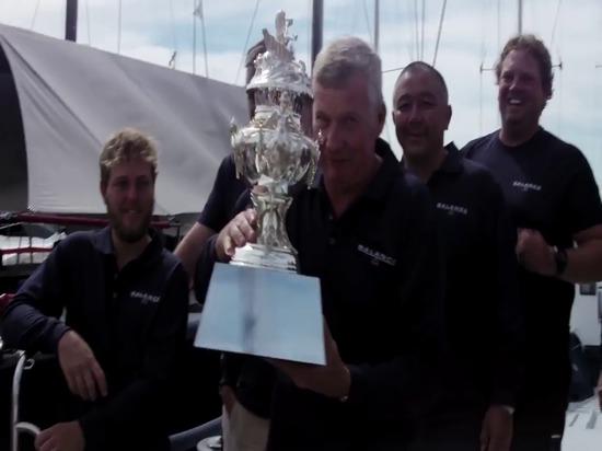 Course de yacht de Rolex Sydney Hobart - victoire globale pour l'équilibre - 31 décembre 2015