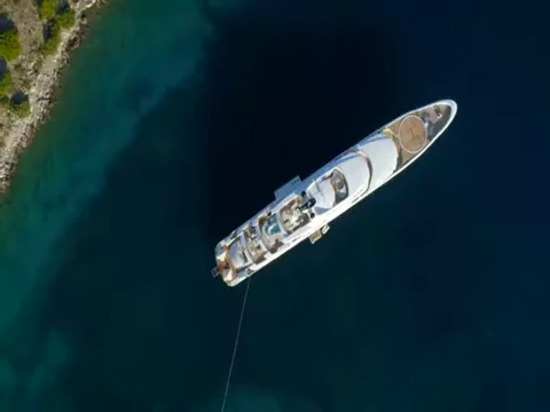 AGY 410 abonnés 95m O'PARI Luxury Yacht