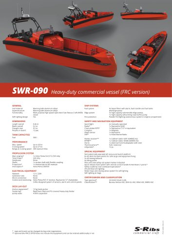 SWR-090 (PDS.SWR-090.03) FRC Version