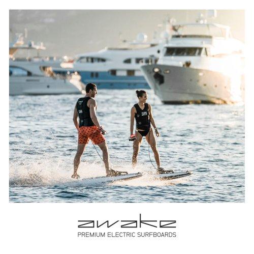RÄVIK electric surfboard by AWAKE
