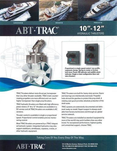 10-12 Inch Hydraulic Thruster