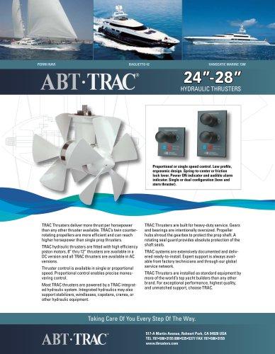24-28 Inch Hydraulic Thruster