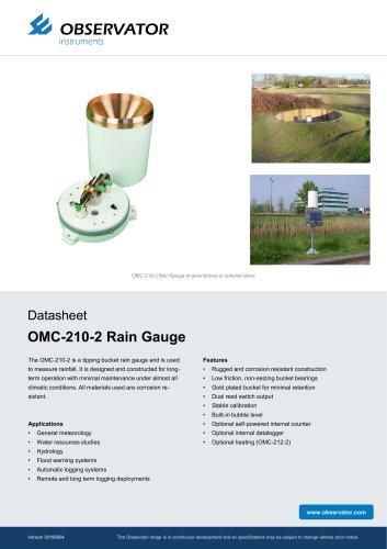 OMC-210-2 Rain Gauge