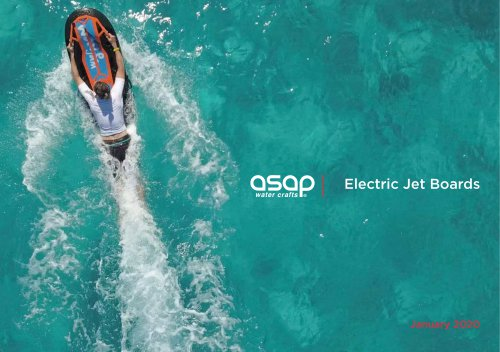 Wave Jam electric jet boards