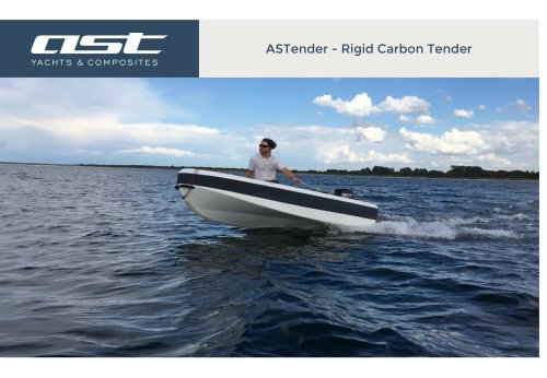 ASTender range catalogue - rigid carbon tender made in Germany