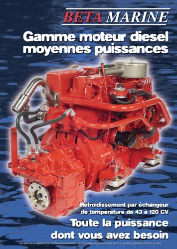Gamme moteurs diesel moyennes puissances