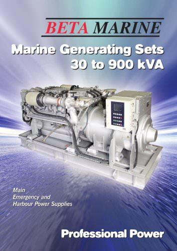 Generators 30 to 900 kVA