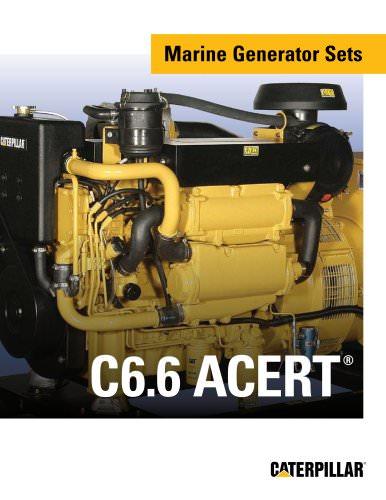 Brochure - Cat C6-6 ACERT Marine Gensets