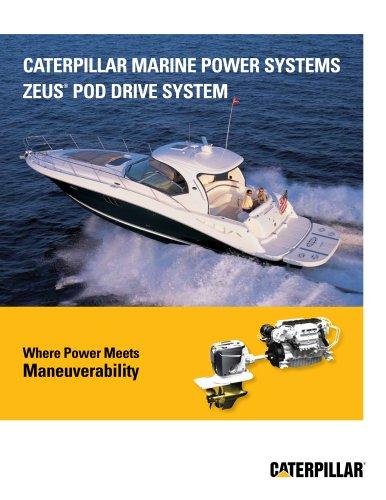 Cat Marine Zeus Pod Drive