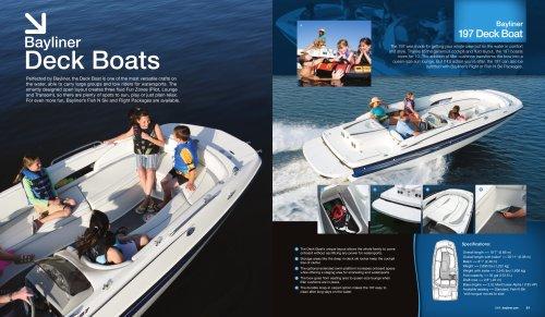 Bayliner Deckboats