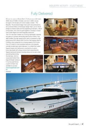 enclosed-bridge motor yacht