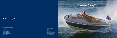 2009 Product Brochure
