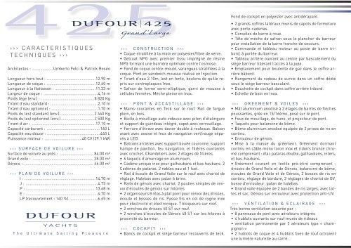 Dufour 425