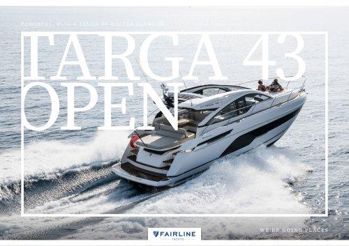 TARGA 43 OPEN