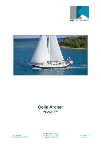 Colin Archer 18,60