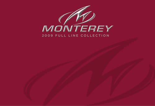 Monterey full line collection 2009