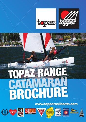 Topaz Catamaran Range brochure
