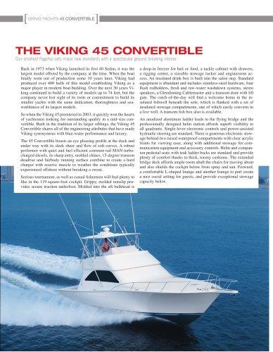 The Viking 45 Convertible