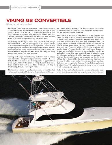 The Viking 68 Convertible