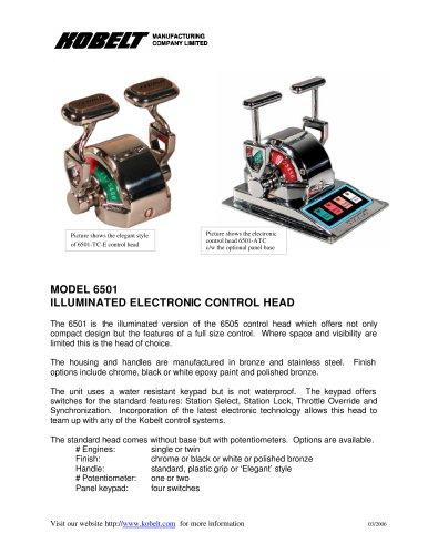 6501 - Product Spec Sheet