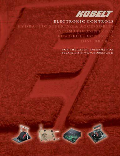 Electronic controls brochure
