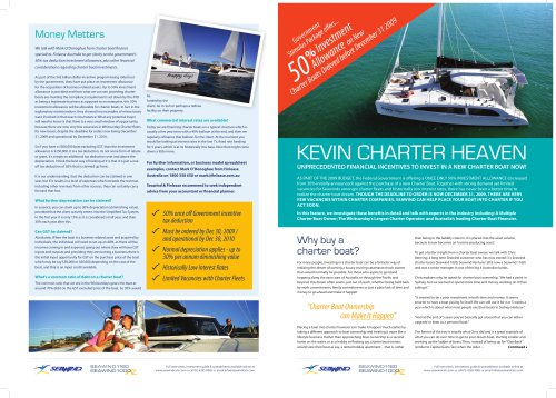 Charter Information Flyer