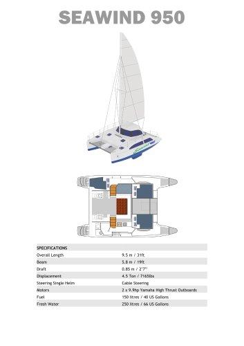 Seawind 950 Standard Specification
