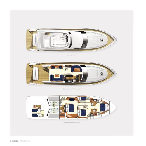 Brochure Specifications Flybridge Yachts