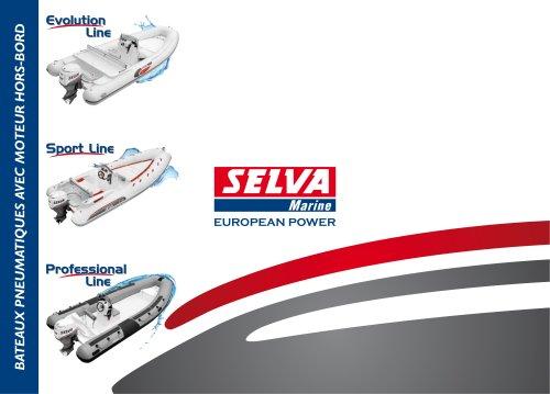 Catalogue Bateaux Pneumatiques 2012: Evolution Line, Sport Line, Professional Line
