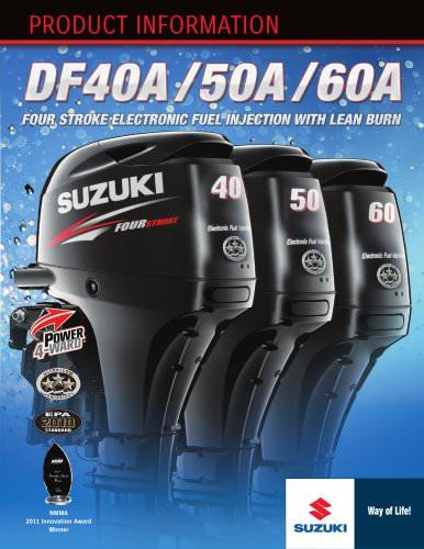 Suzuki DF40-50-60 Brochure