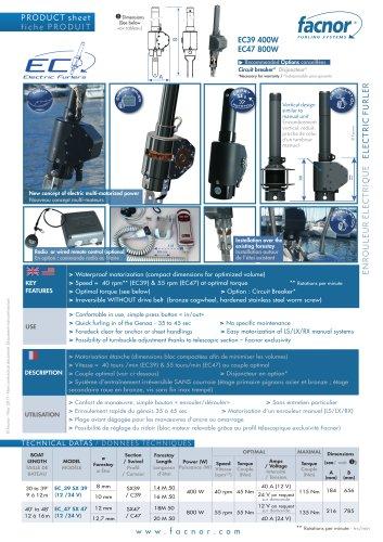 Enrouleurs Electric EC