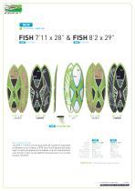 """FISH 7'11"""" X 28"""" - 1"""