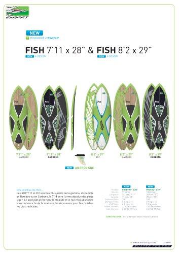 """FISH 7'11"""" X 28"""""""