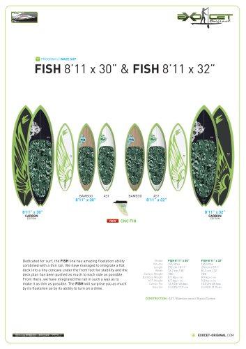 """FISH 8'11 X 30"""""""