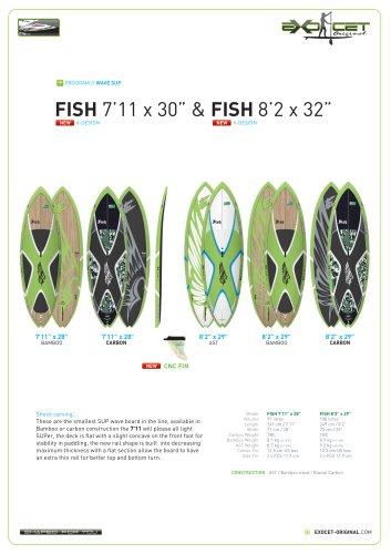 """FISH 8'2"""" X 29"""""""