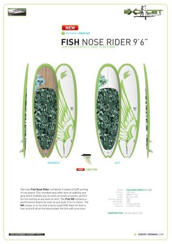 "FISH NOSE RIDER 9'6"""