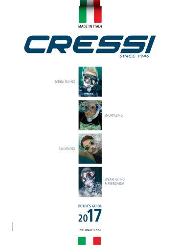 CRESSI Catalogue 2017