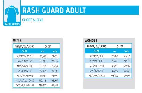 Rash guard adult