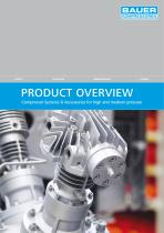Product Overview  Compressor Systems & Accessories for high and medium pressure