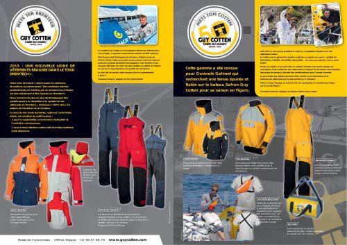 Catalogue Nouveautés Yachting 2015