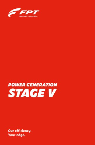 POWER GENERATION STAGE V