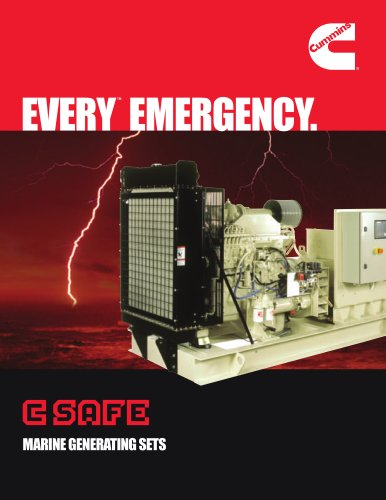 C SAFE MARINE GENERATING SETS