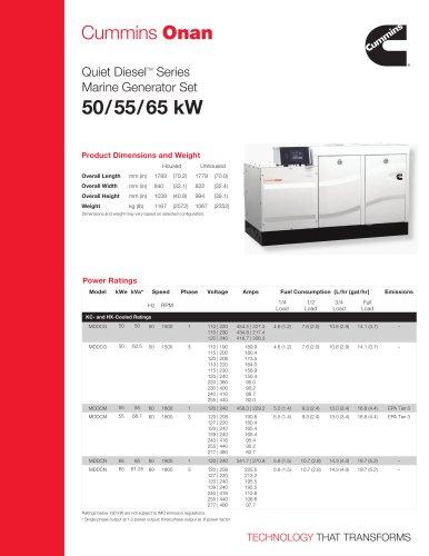 MDDCG/M/N 50/55/65 kW