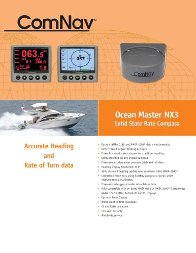 Ocean Master NX3