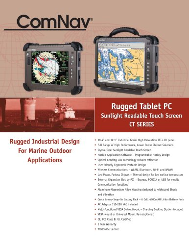 Rugged Tablet PC CT Series