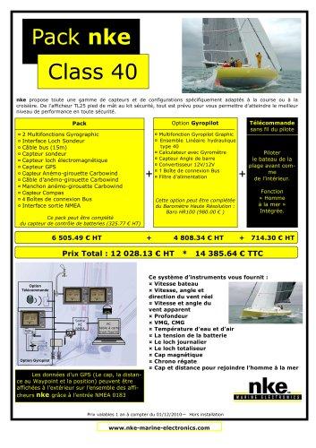 Pack Class 40 nke 2011