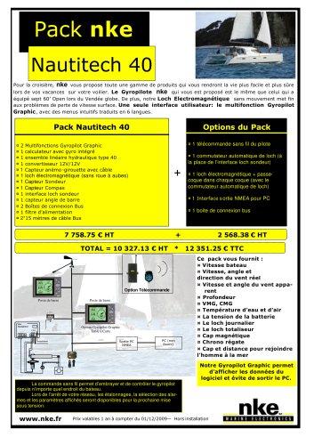 Pack nke - nautitech